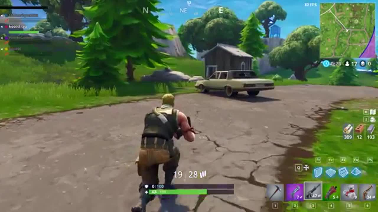 FortNite - First GamePlay - So Bad