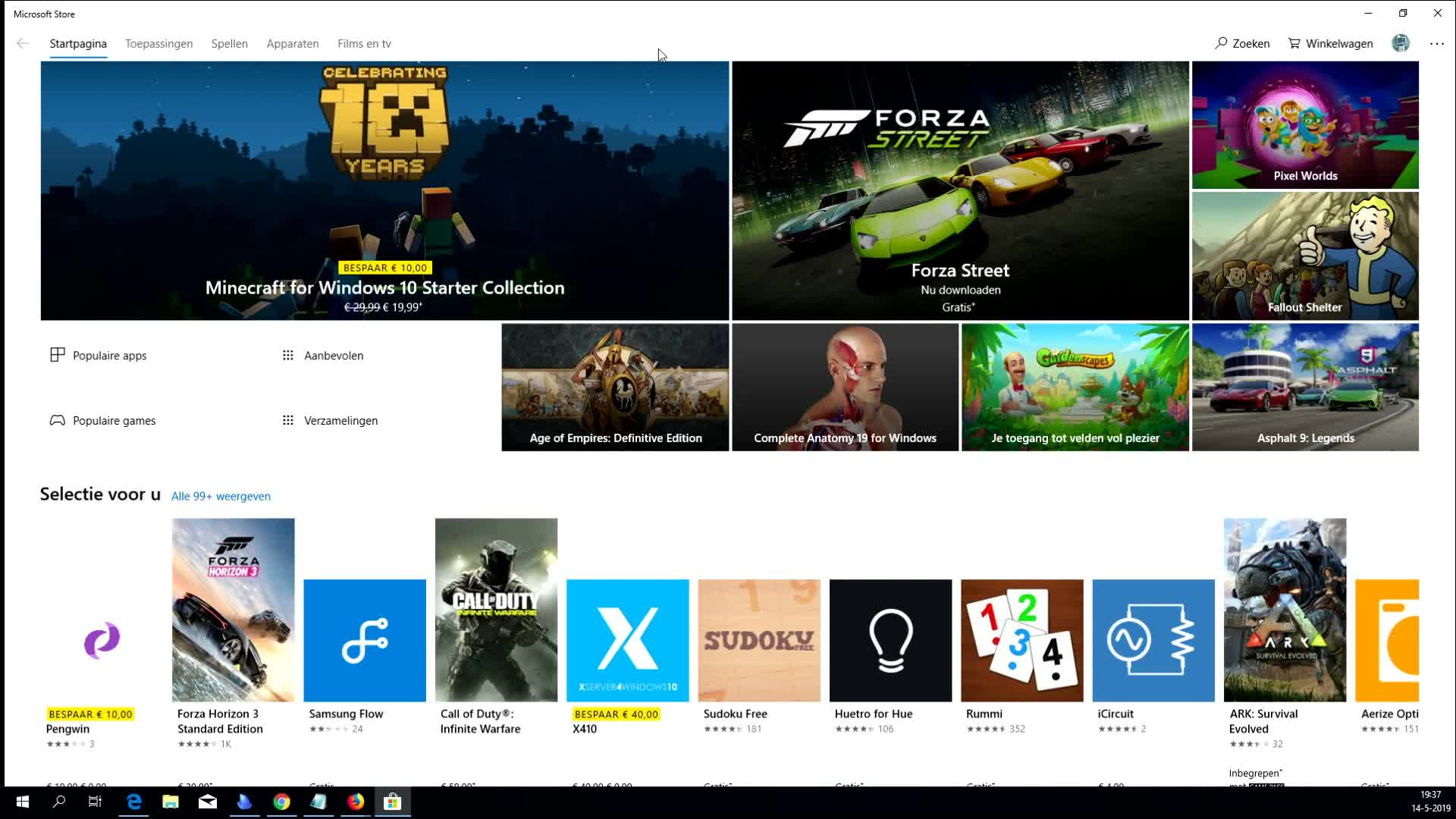 Windows Store probleem & de oplossing